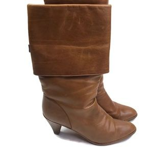 Joan & David Couture Vintage Tan Riding Boots